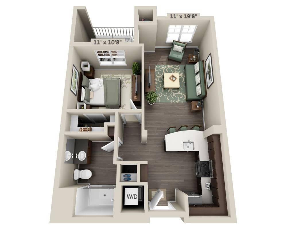 $2076 One bedroom Apartment for rent