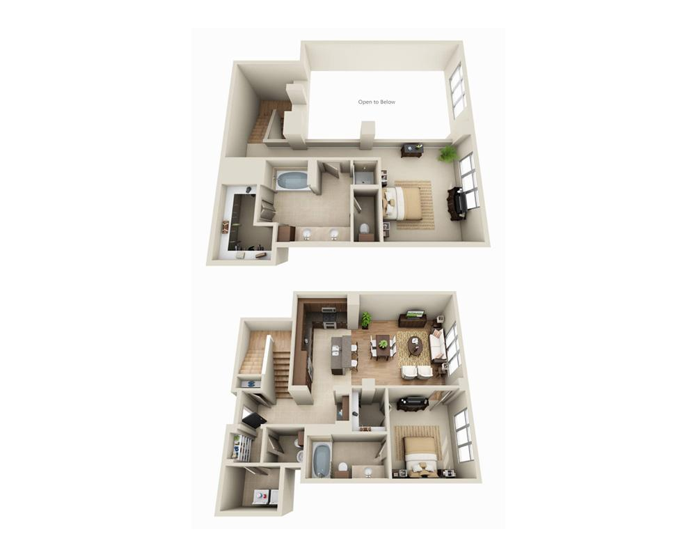 $3217 Two bedroom Apartment for rent