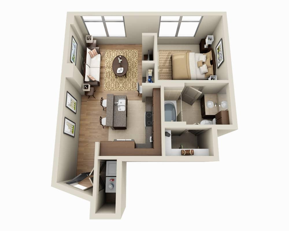 $2238 One bedroom Apartment for rent