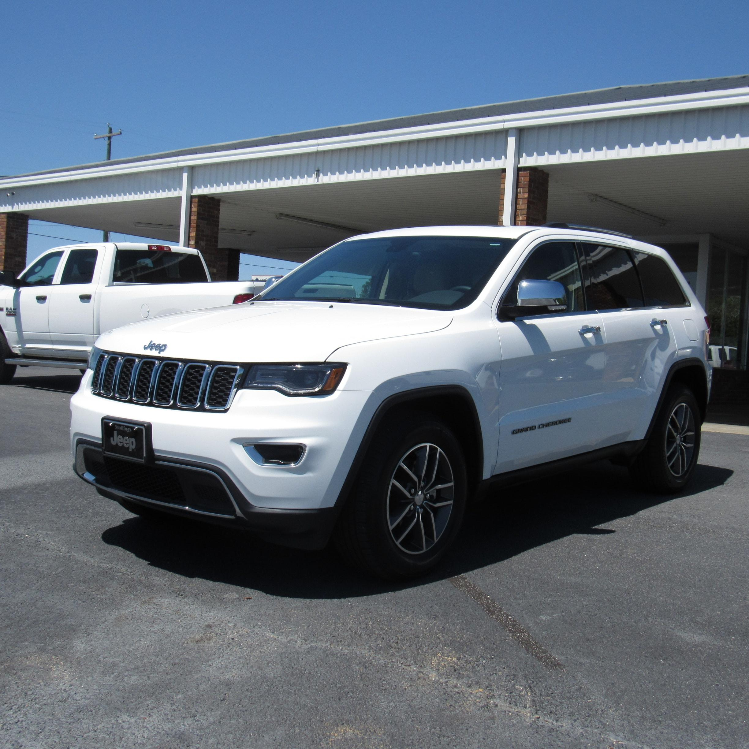 Jeep Grand Cherokee Limited RWD 2018