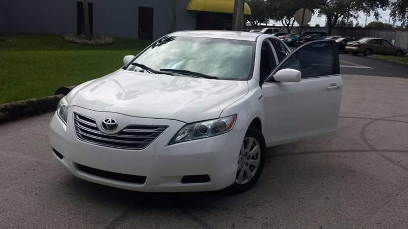 2007 Toyota Camry LE private party