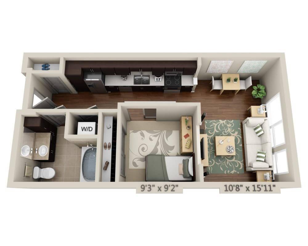 $1949 Studio Apartment for rent