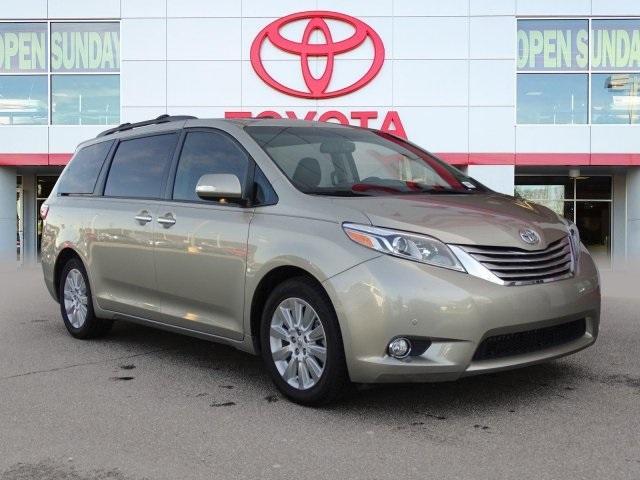 Toyota Sienna Limited 2015
