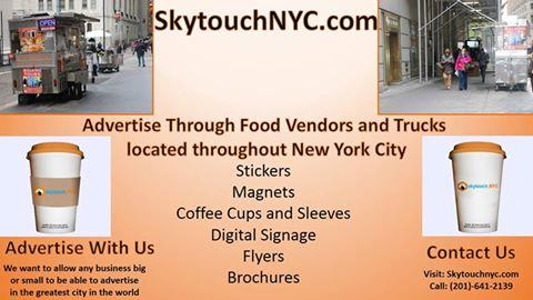 Custom coffee cup and sleeve advertising by outdoor ad agnecy,NY