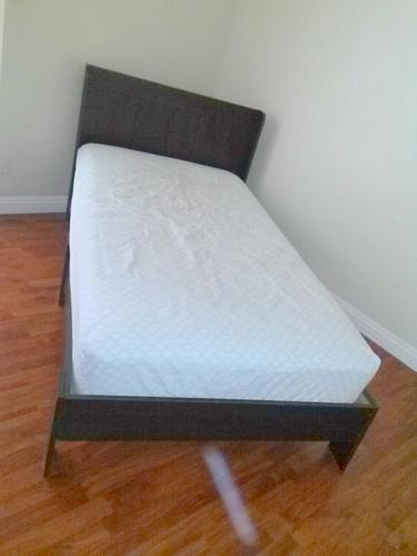 TWIN BED INCLUDING MATTRESS - USED