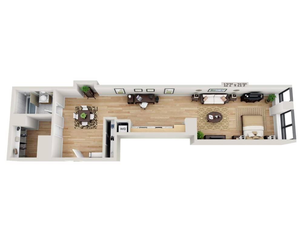 $3995 Studio Apartment for rent