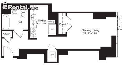 $4150 Studio Apartment for rent