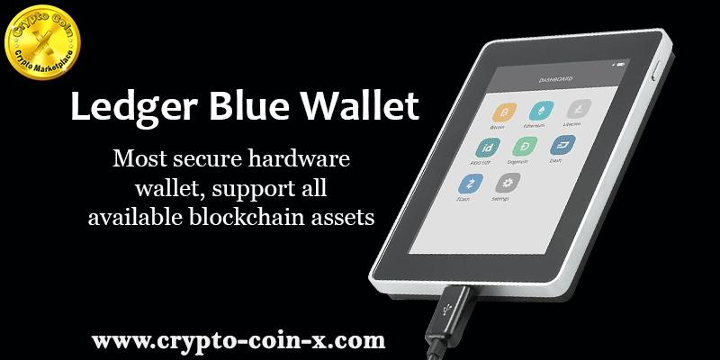 Buy Online Ledger Blue Hardware Wallet
