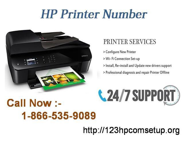 Toll free HP Printer Number 1-866-535-9089