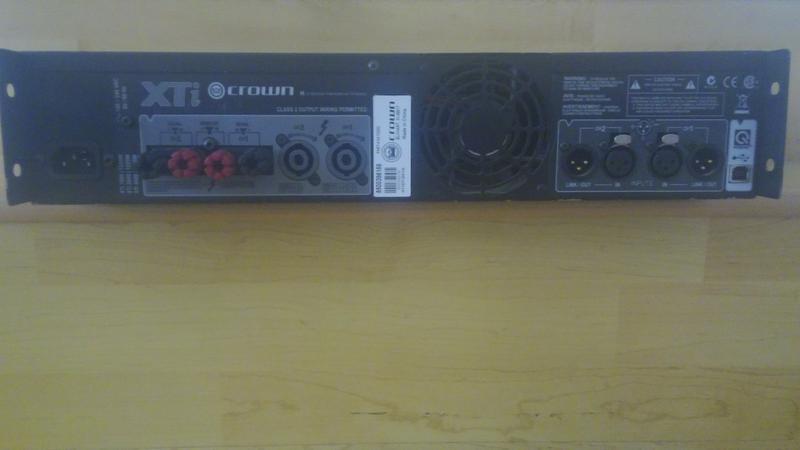 Crown Amplifier XTI 2000