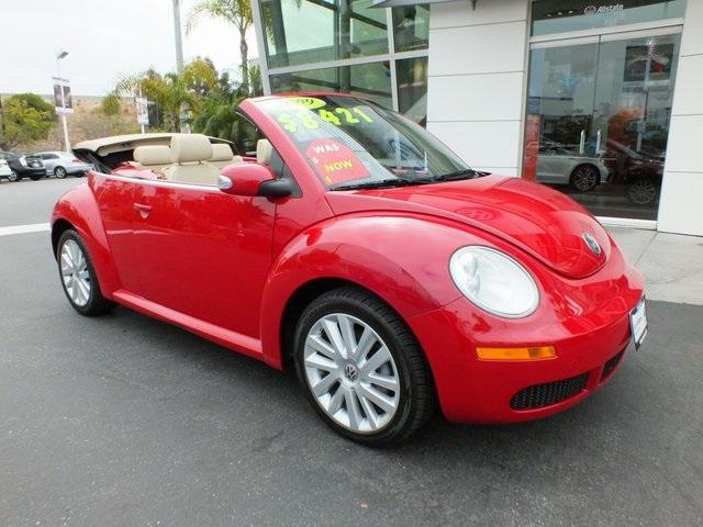 Volkswagen New Beetle Convertible 2.5L 2009