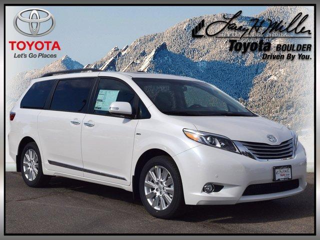 Toyota Sienna Limited Premium 7 Passenger 2017