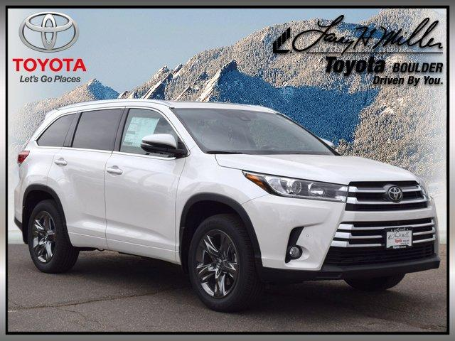 Toyota Highlander Limited Platinum V6 2017