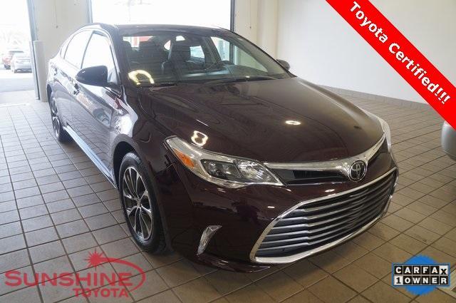 Toyota Avalon XLE 2017