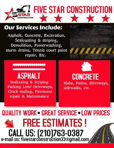 ASPHALT PAVING / SEALCOATING & STRIPING