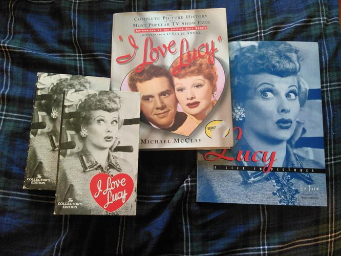 I Love Lucy' Book and Movie Set