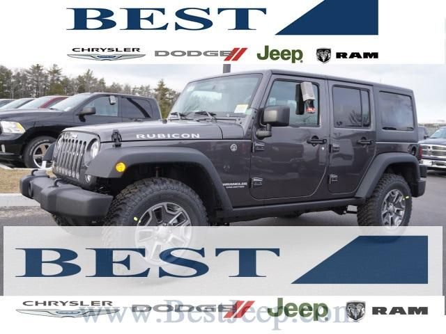 Jeep Wrangler Unlimited Unlimited Rubicon 2017