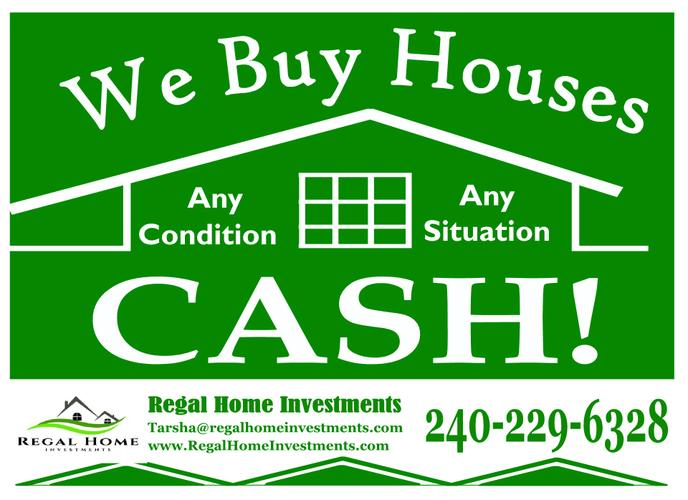 I buy houses in Brentwood, MD and can close when you need!