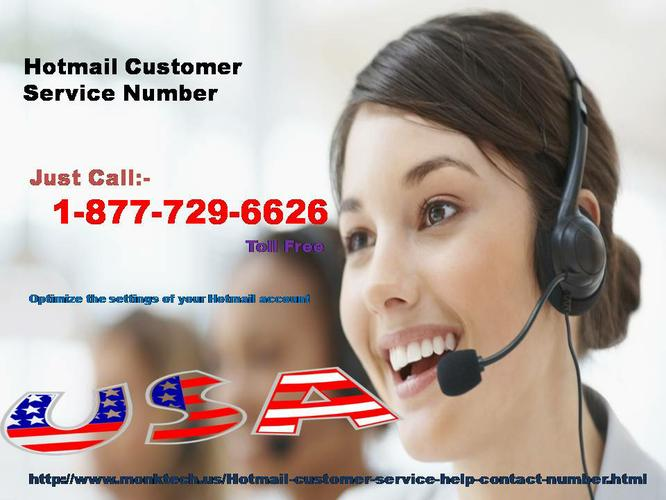 Hotmail Customer Service Number 1-877-729-6626 will help you a lot!