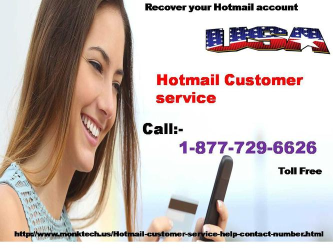 Find Best Solution for Hotmail @ 1-877-729-6626 ^^^^Hotmail Customer Service