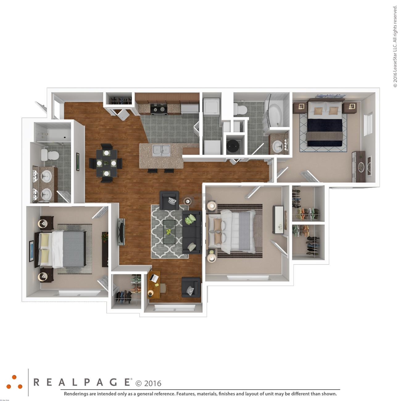 $1764 Two bedroom Apartment for rent