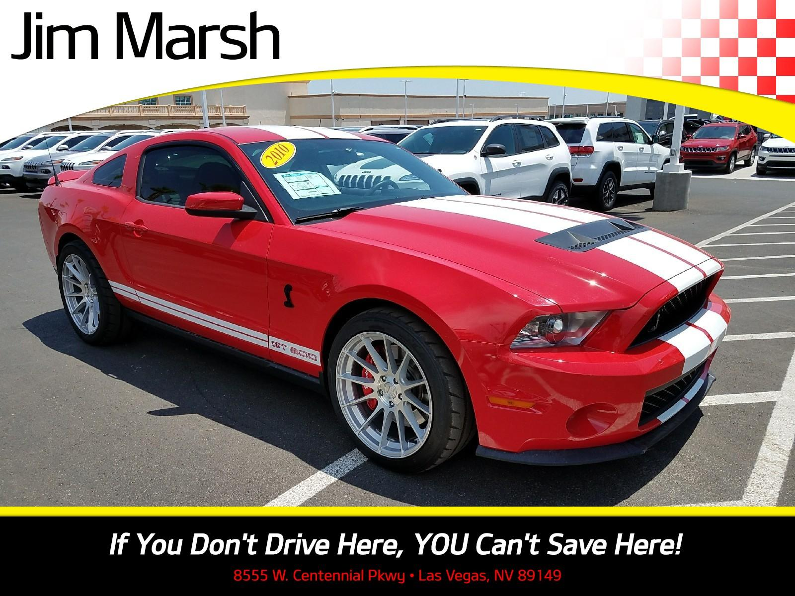 Ford Mustang Shelby GT 500 2010