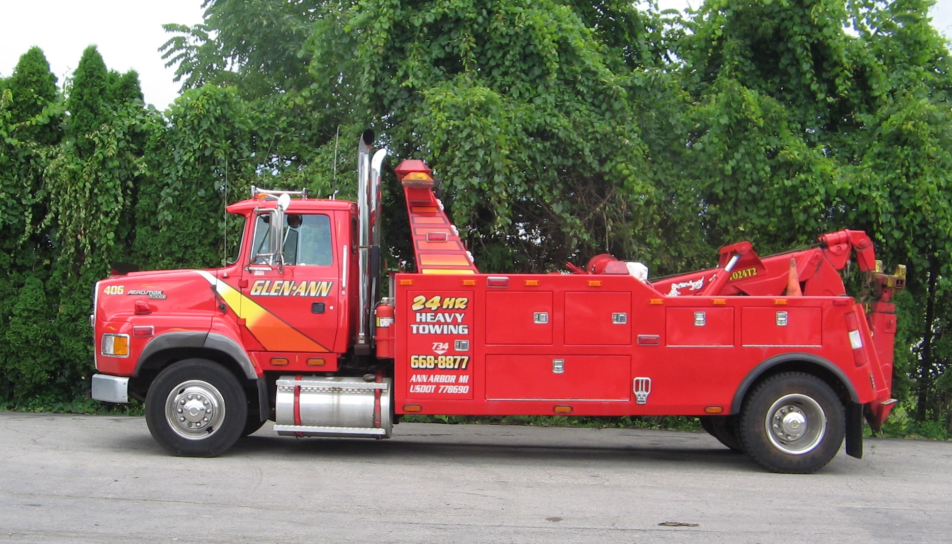 Wall Street Towing