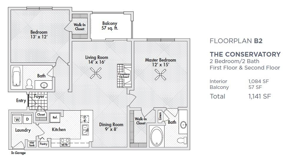 $1651 Two bedroom Apartment for rent