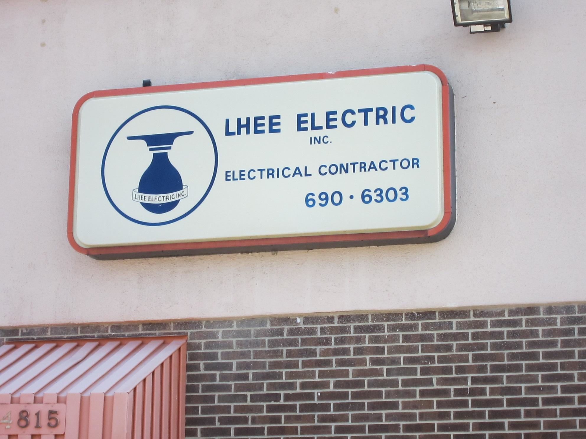 Lhee Electric Co Inc