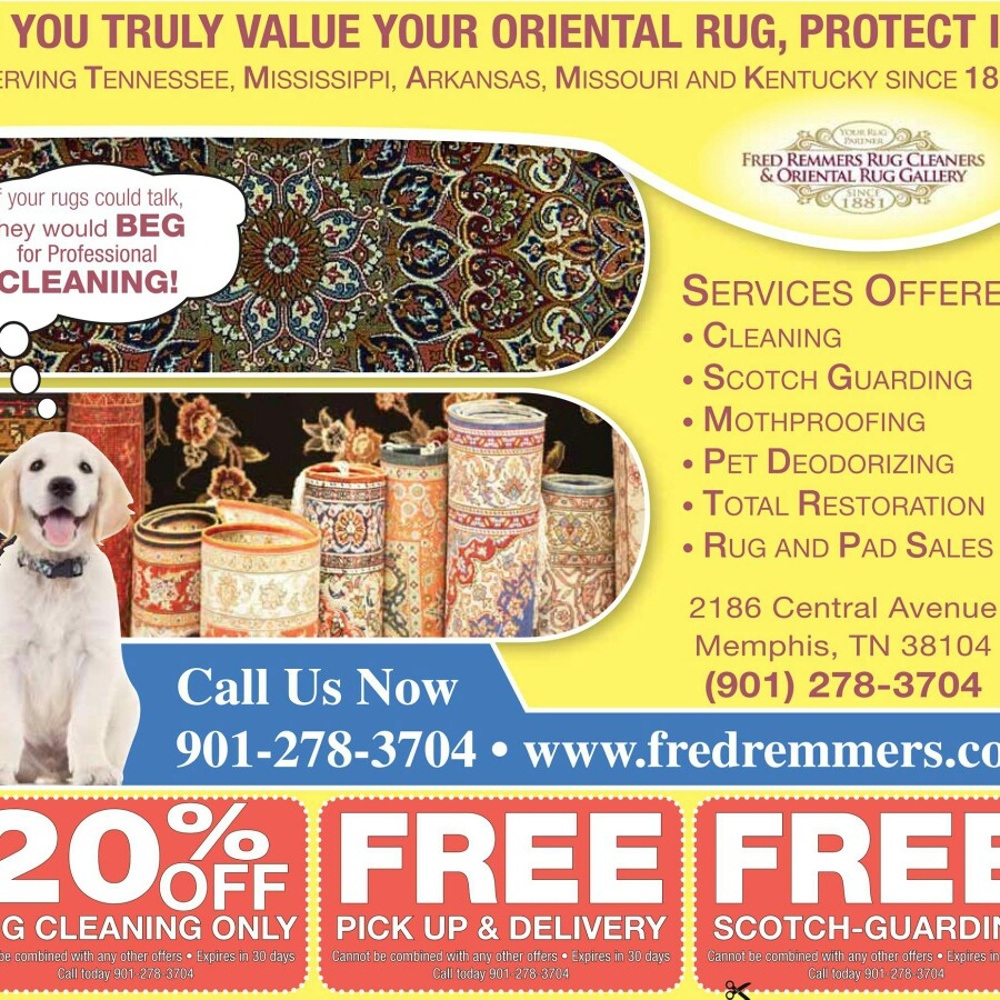 Fred Remmers Rug Cleaners & Oriental Rug Gallery Inc