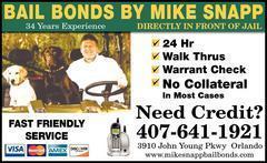Mike Snapp Bail Bonds