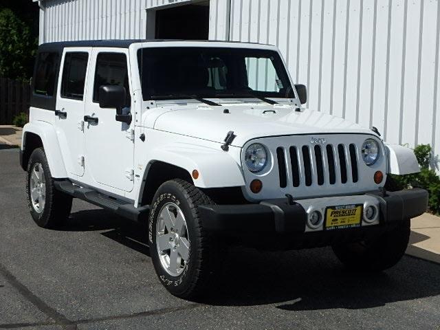 Jeep Wrangler Unlimited Unlimited Sahara 2011