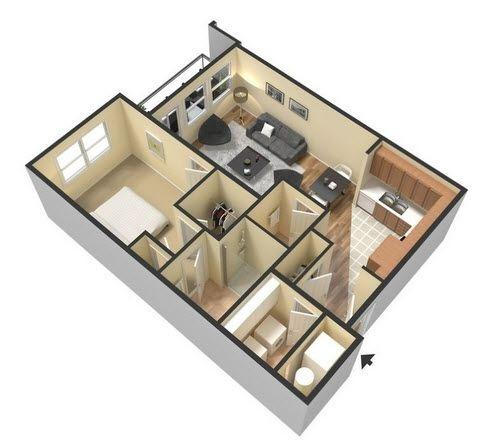 $1260 One bedroom Apartment for rent