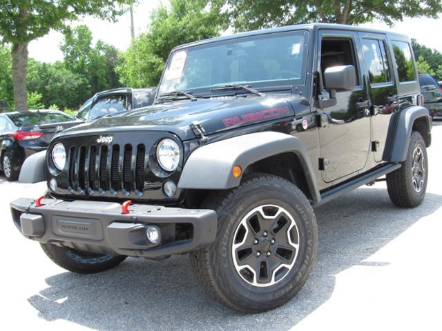 Jeep Wrangler Unlimited 4WD 4dr Rubicon Hard Rock 2016