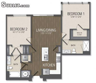 $2519 Two bedroom Apartment for rent