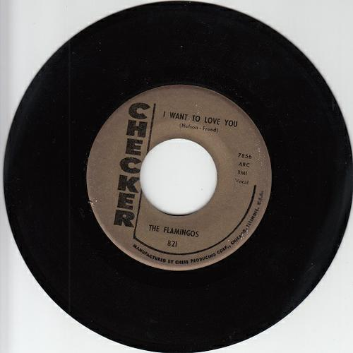 FLAMINGOS ~I Want To Love You**VG+45 !