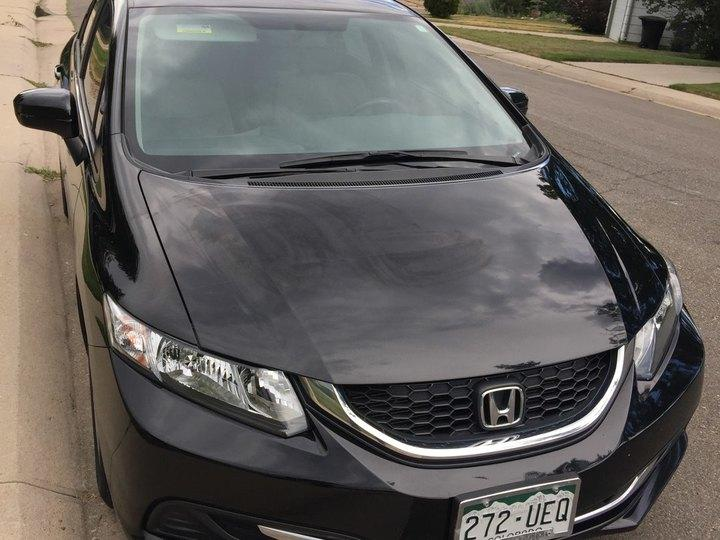 Honda Civic Sedan 4D Sedan LX 2015