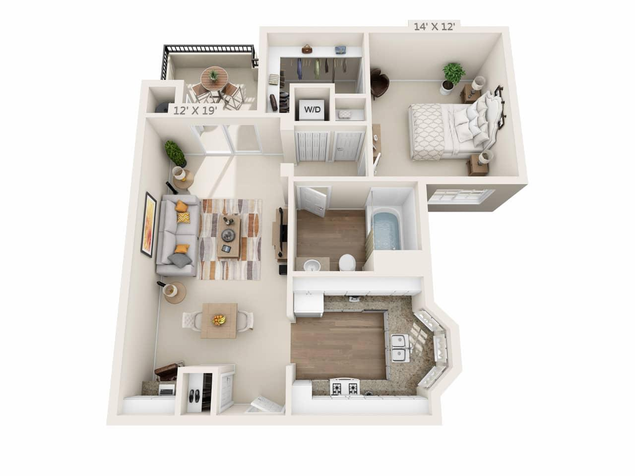 $2676 One bedroom Apartment for rent