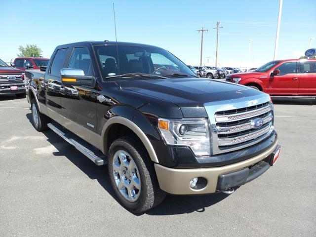 Ford F-150 4WD SuperCrew 157 King Ranch 2014