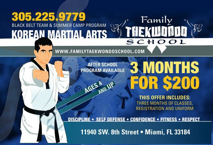 Miami Taekwondo Classes for kids