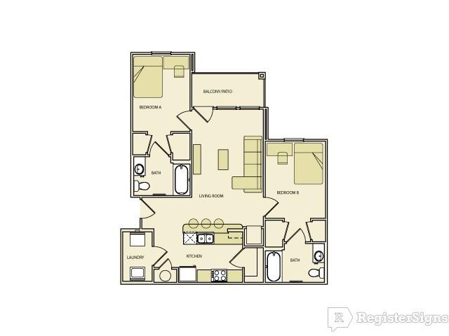 $829 Two bedroom Apartment for rent