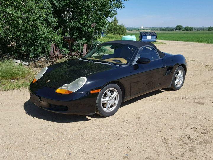 Porsche Boxster 2D Roadster Base 2001