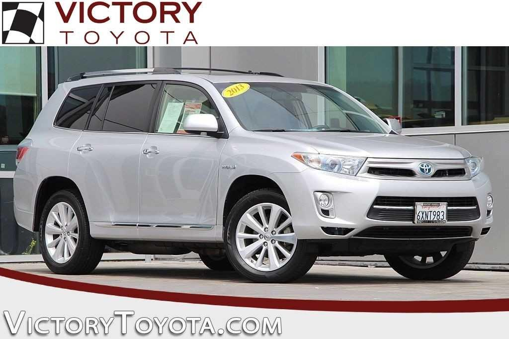Toyota Highlander Hybrid Hybrid Limited 2013