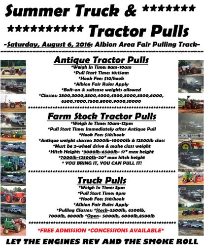 ALBION TRUCK & TRACTOR PULL