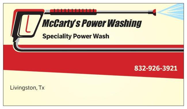 McCarty's Power Washing