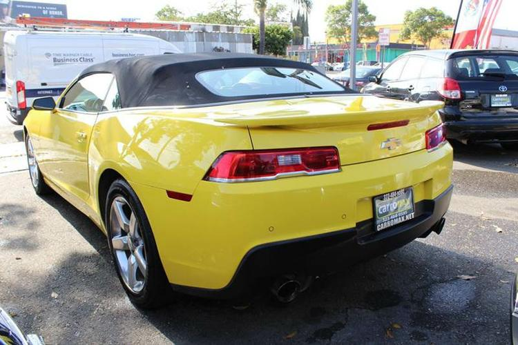 2014  Chevy Camaro convertible LT 2 dr. w /1 LT