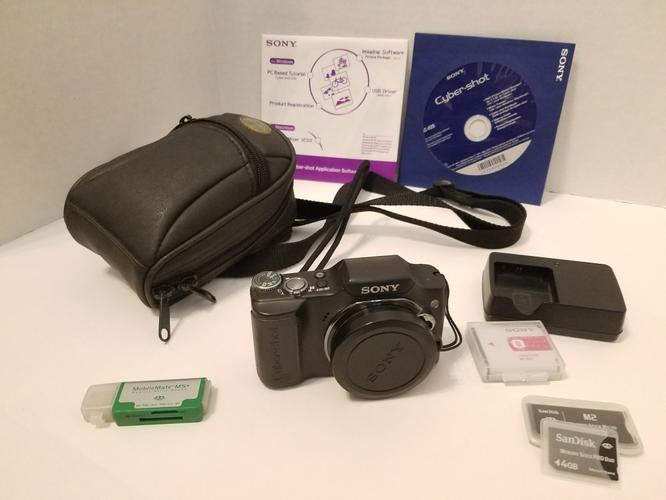 Sony DSC-H20 Cyber-shot Camera with 10x