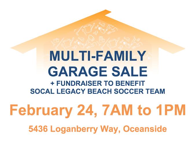 Multi-Family Garage Sale in Oceanside