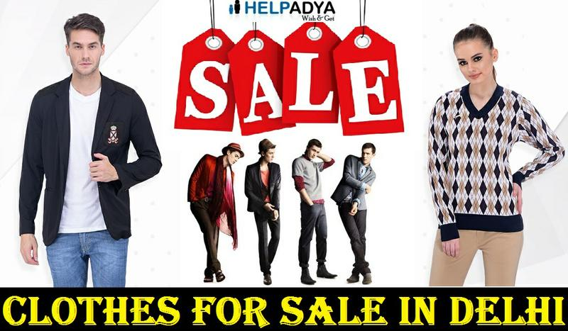 Clothes For Sale in Delhi on Help Adya