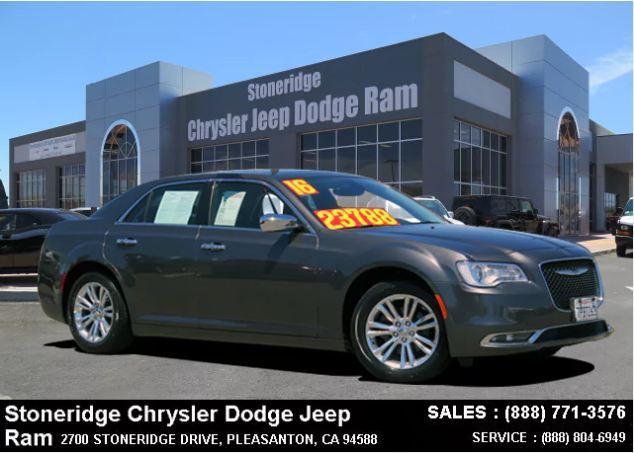 Certified Used 2016 Chrysler 300C Base Sedan For Sale in Dublin CA